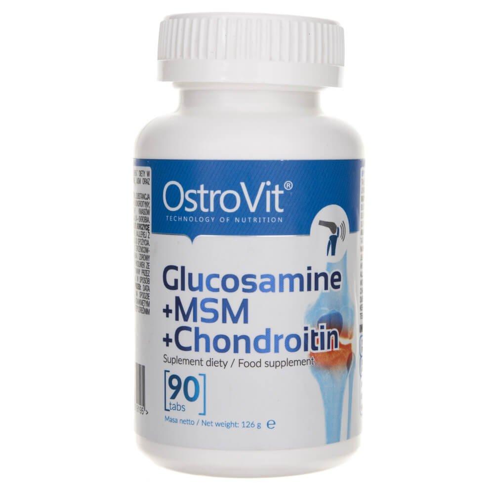 Glucozamină + MSM + Condroitină - OstroVit   avagardens.ro