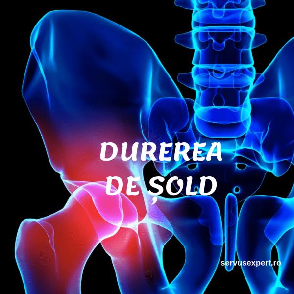 Dureri musculare în articulația șoldului, unde este simțită durerea de șold artrită