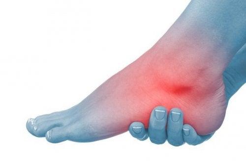 umflarea articulațiilor gleznei picioarelor