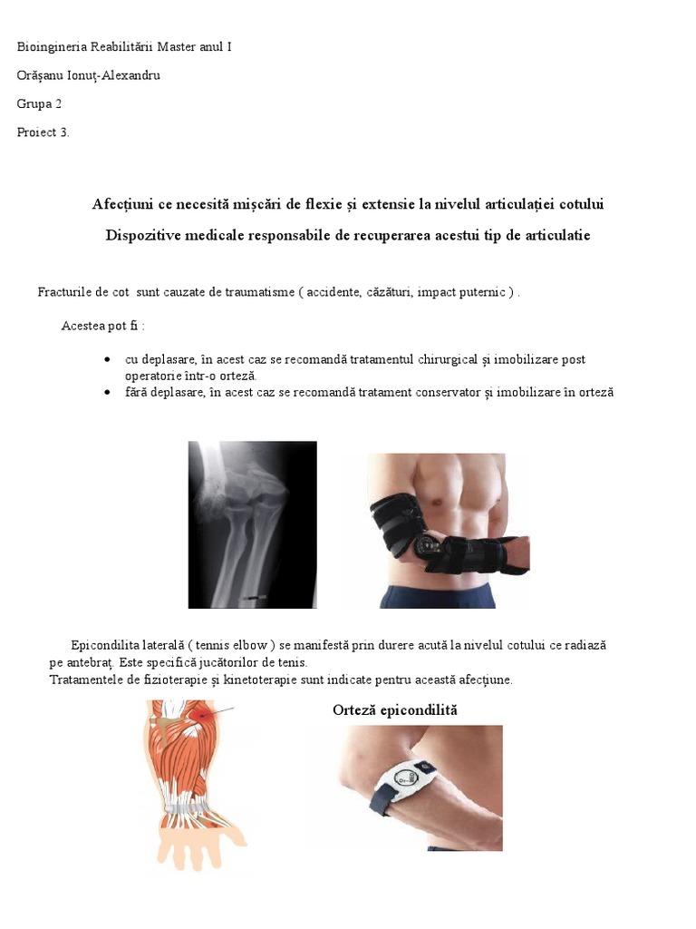 Deplasarea tratamentului articulației cotului Semne și simptome
