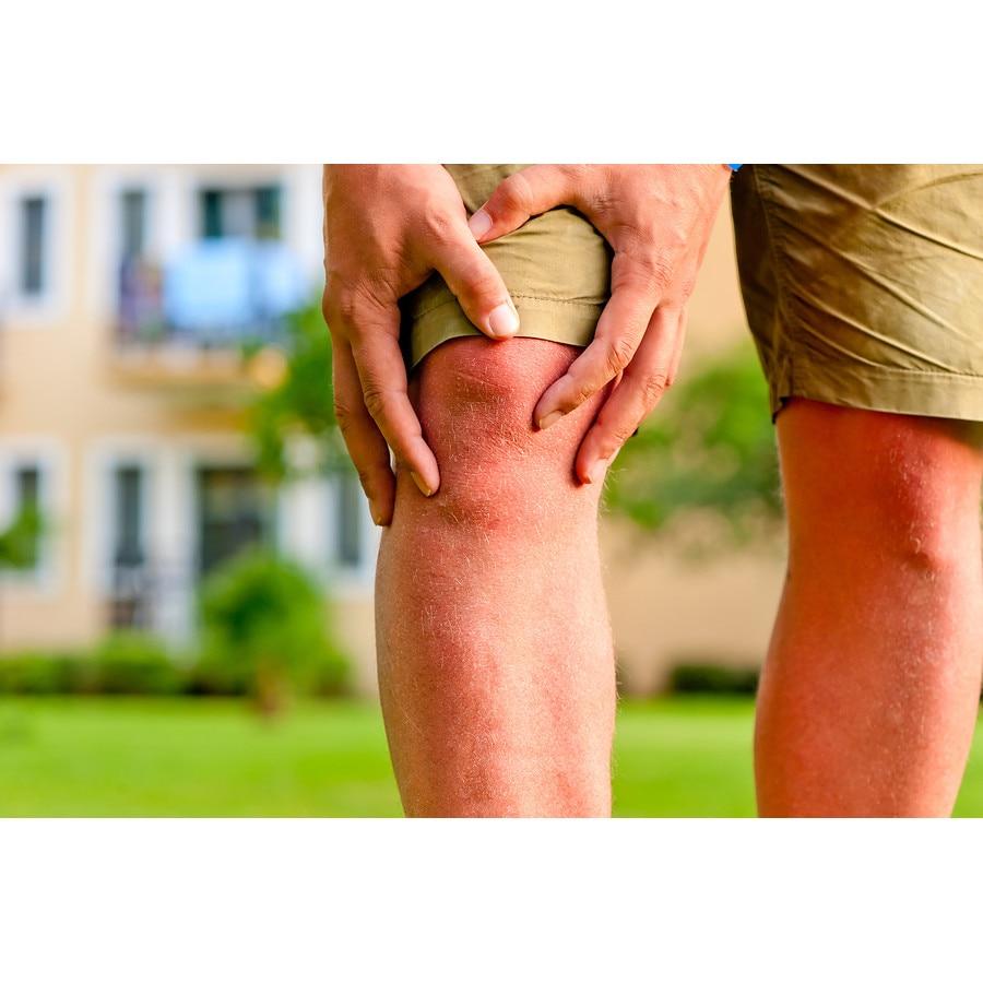 țesutul conjunctiv al cartilajului scheletic umflarea peste genunchi