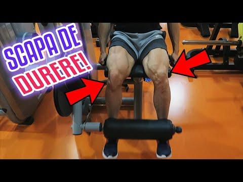 un set de exerciții pentru durerea în articulații inflamația membranei sinoviale a genunchiului