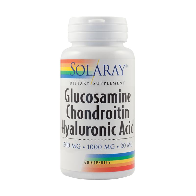 Complex Glucozamină și Condroitina, 90 capsule, Natures Aid