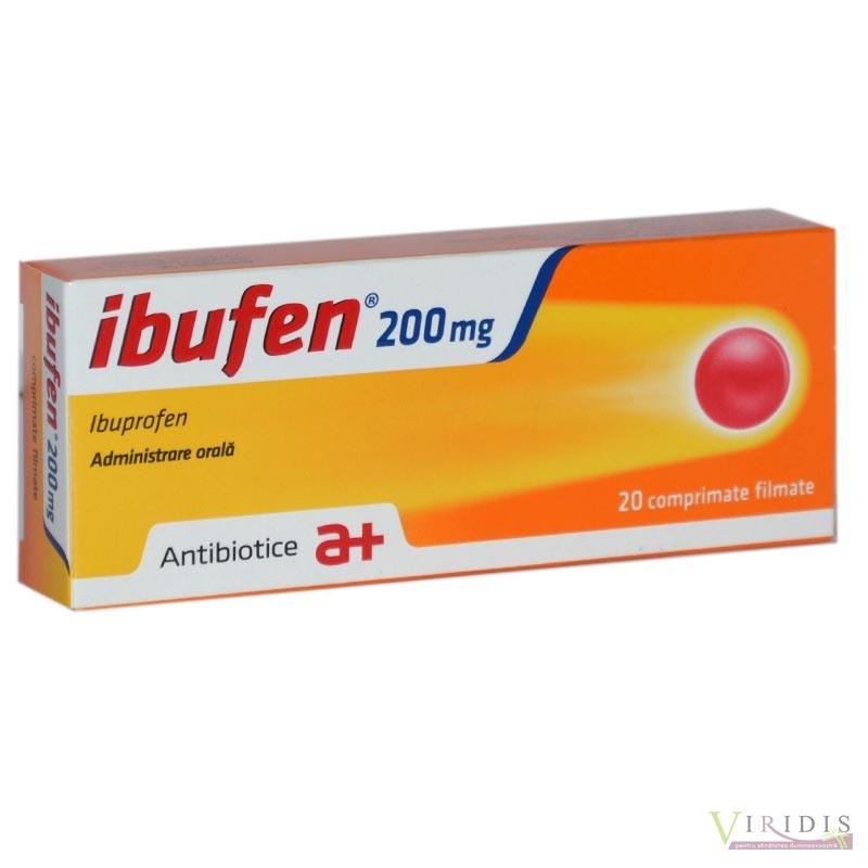 pastile pentru dureri articulare ibuprofen
