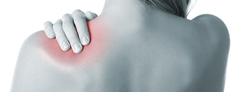 durere în diagnosticul articulației umărului drept