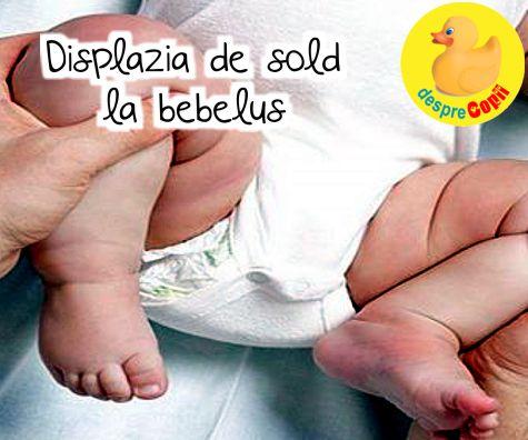 Displazia de șold la bebeluși – cauze și tratament