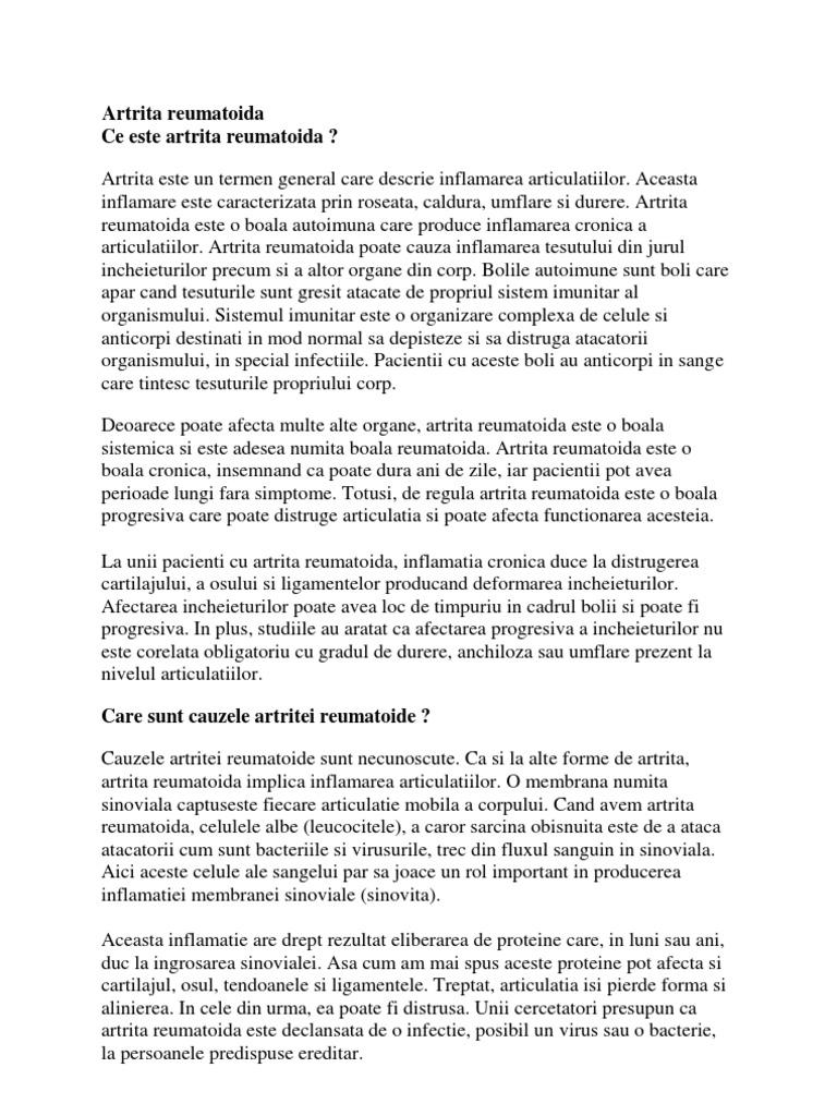 Artrita idiopatica juvenila – ce trebuie sa cunoasca parintii   avagardens.ro