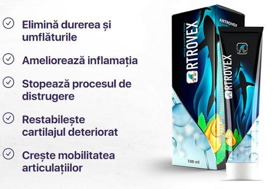 Cremă pentru dureri articulare Dacoderm, 75 ml, Dacia Plant
