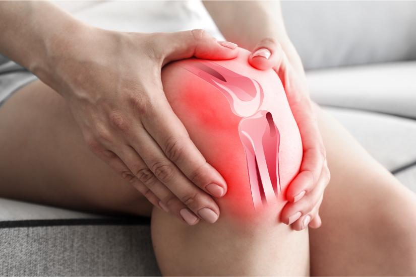 braț umflat de artrită articulația genunchiului calmează durerea