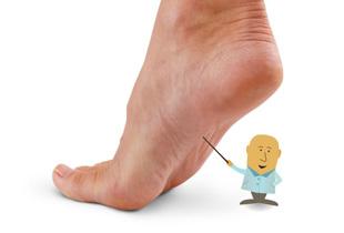 inflamația gleznei cu picioarele plate tratament articular osteopatic