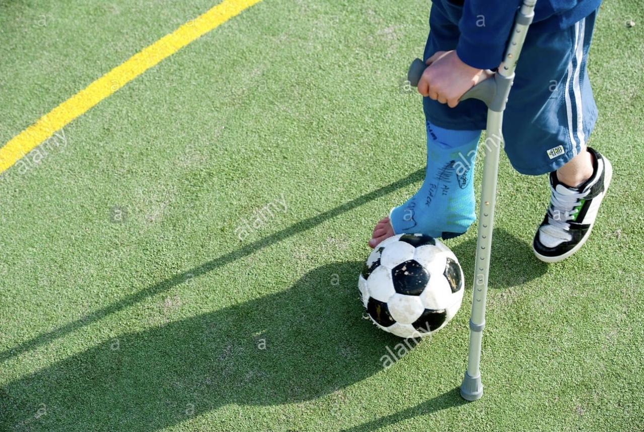 dureri articulare la jucătorii de fotbal