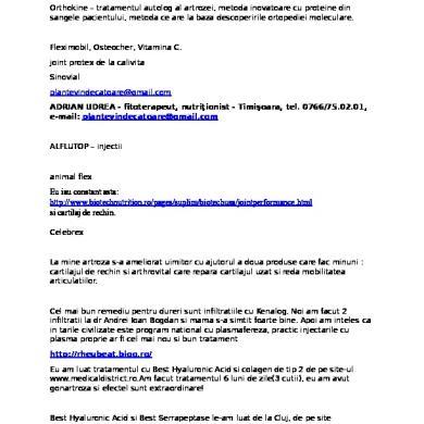 (PDF) Artrita reumatoida a articulației cotului   Curtean Sergio - avagardens.ro