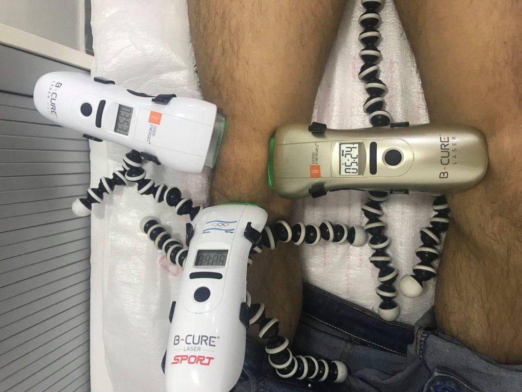 Aparat pentru tratarea laserului cu artroză
