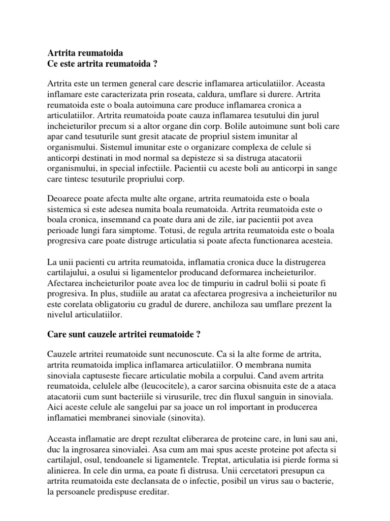 Artrita idiopatica juvenila – ce trebuie sa cunoasca parintii | avagardens.ro