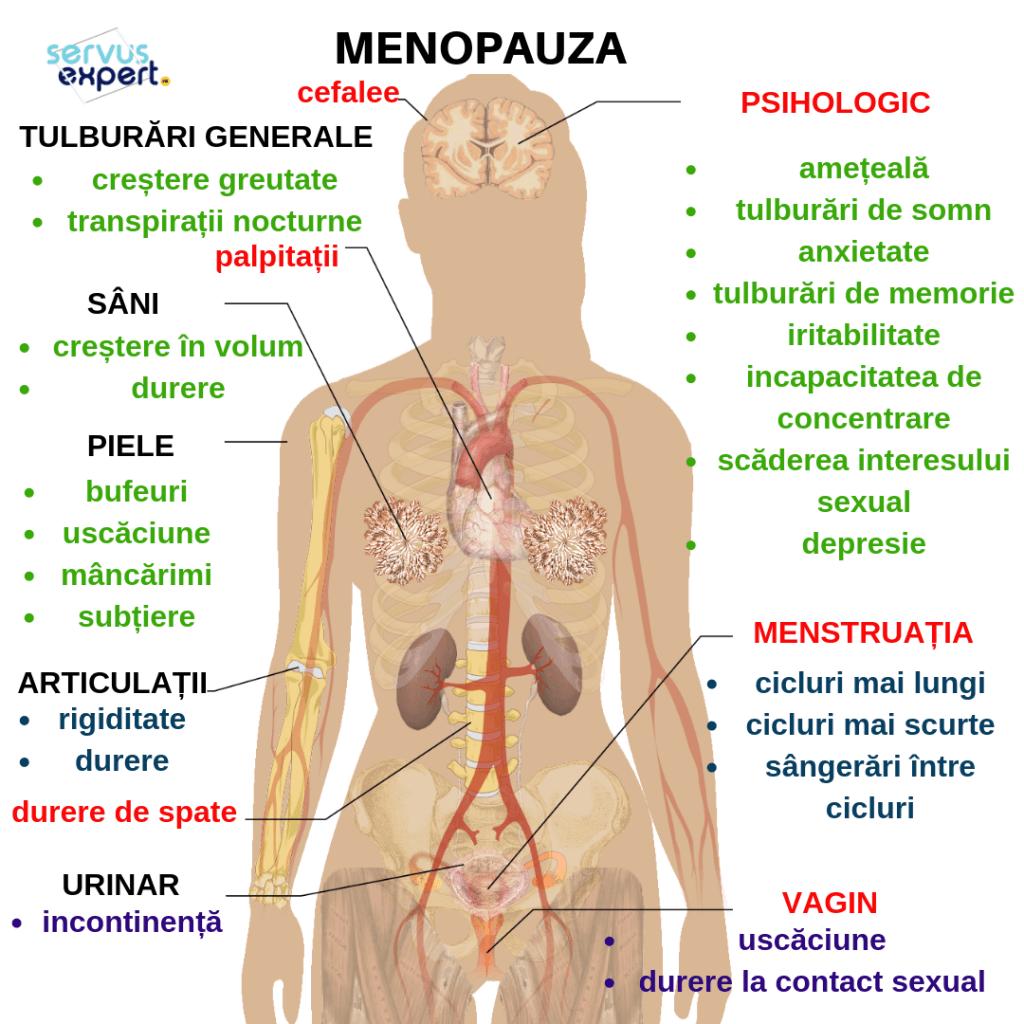 menopauză și dureri articulare
